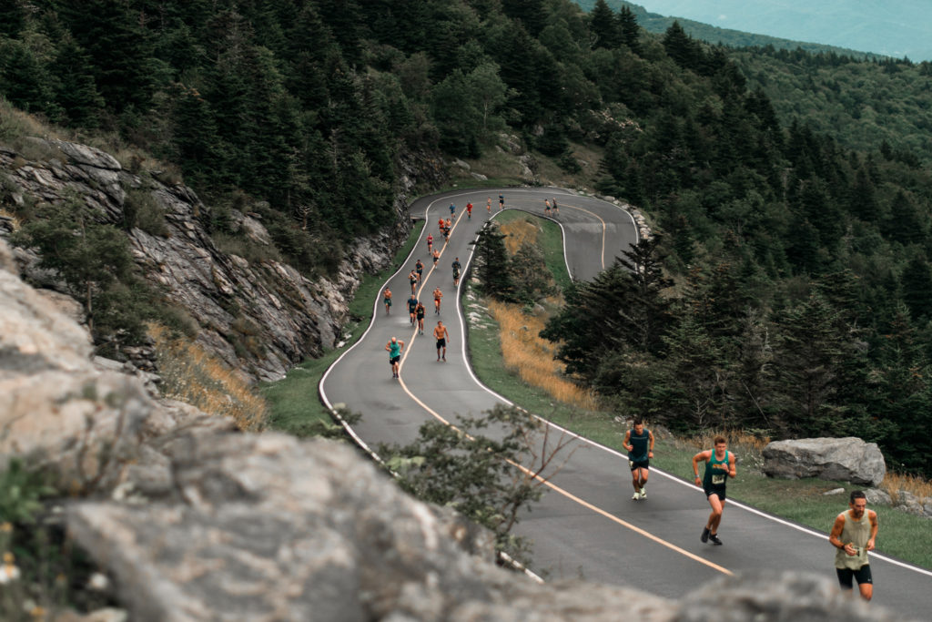 In your first marathon focus on finishing strong rather than time.