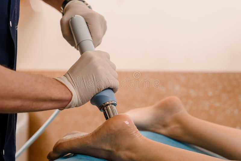 Shockwave therapy is an effective treatment for plantar fasciitis