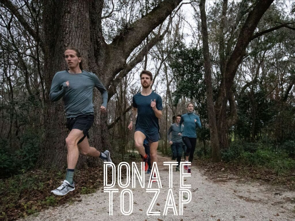 If you find this half marathon training plan valuable please consider a donation to the ZAP Endurance Foundation.