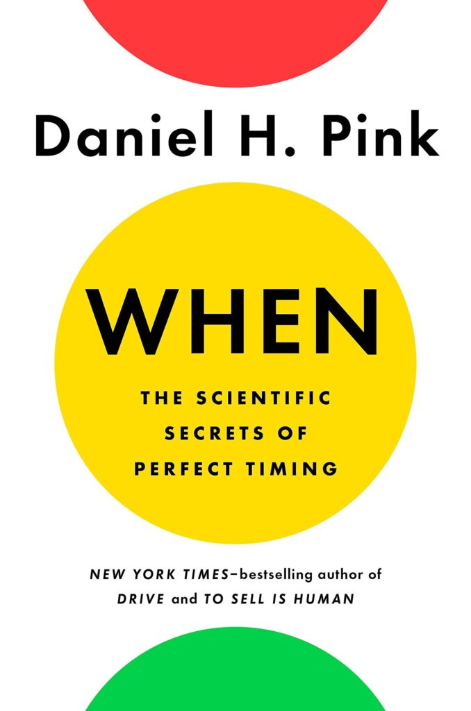 Daniel Pink came up with the idea of the nappuccino.