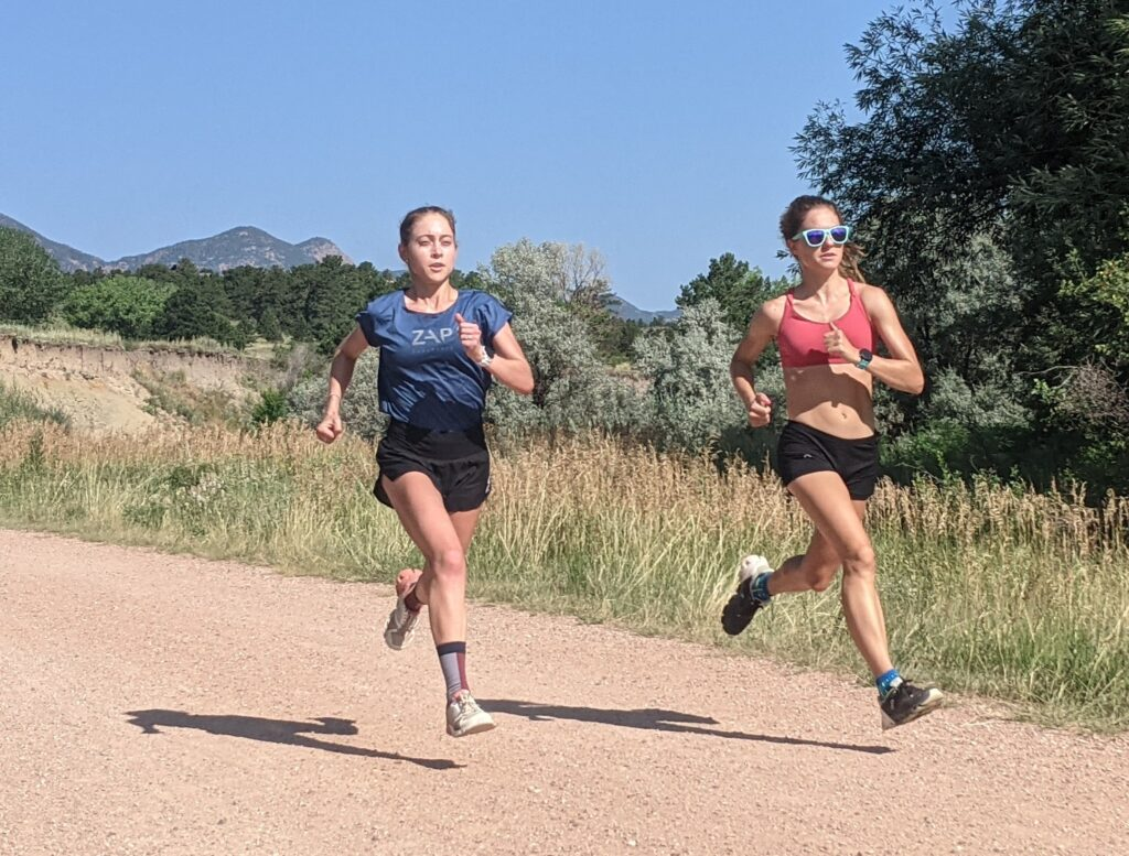 ZAP athletes adjust their pacing in the summer to reap the benefits of running in the heat.